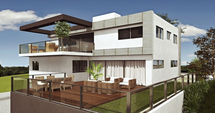 Zichron Yaakov Penthouse and garden apartments
