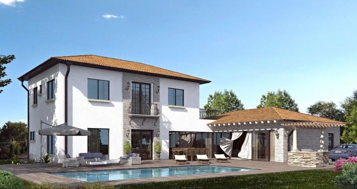 Toscana style vila in Caesarea by Mor Balalty